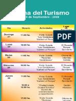 Semana del Turismo 2008 / Programa de Actividades / Turismo Córdoba Ciudad