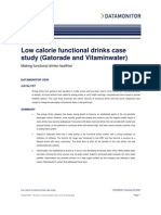 Gatorade&Vitamin Water