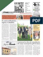 El Oriente de Asturias (Portada) 29 de julio