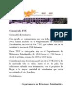 Comunicado TNE 3