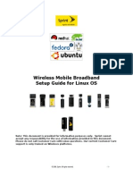 Sprint Mobile Broadband Setup Guide for Linux