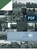 U.S. Mayor's Clean Energy Report 2011