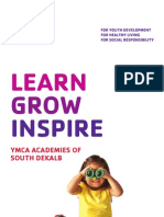 YMCA After School Brochure 2011