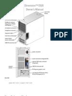 Dell Dimension E520 Manual