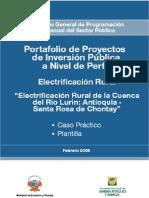 Electrificacion Rural - Caso Practico y Plantilla