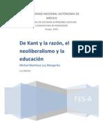 Kant Ensayo[1]