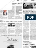 29-07-11 Repercutirá incertidumbre de EU en México - Cano Vélez