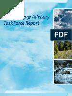 Green Energy Advisory Task Force