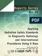 Reporte de Seguridad No 39 (Aplicación de Estandares de Seguridad  en Diagnostico e Intervencionismo)
