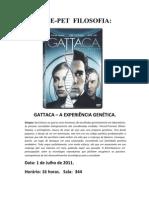 Cartaz CinePet Rutiele e Luis Fernando