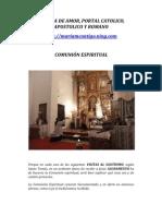 EXPOSICION AL SANTISIMO Y  MARIA REINA | ALIANZA DE AMOR