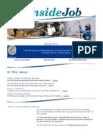 The Inside Job - August 2011