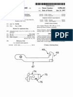 Mod Firearm Beretta - US Patent 5596162