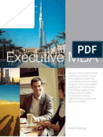 Hult EMBA Dubai 2011 Schedule and More