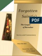 24712031 Forgotten Saint s the Gospel of Barnabas Survey Commentary