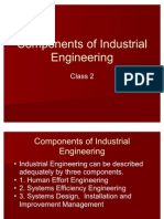 Components of Industrial Engineering Class 2