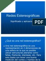 Redes Estereograficas