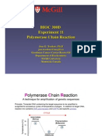 McGill - 300D2 - Polymerase Chain Reaction in Detail