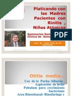 Otitis Media Biberón La Pacha Acostado Mas Infecciones Respiratorias Tos y Flema Por La Nariz