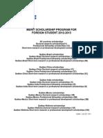 Regles Programme PBEEE Anglais 2012-2013