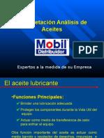 Interpretacion Analisis de Aceite- Mobil