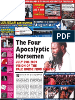 The Four Apocalyptic Horse