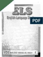 ELS 1( the English Verb Tenses)