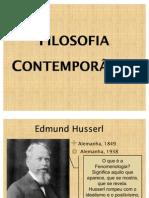 Filósofos Contemporâneos