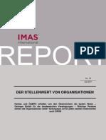 Imas Umfrage - Stellenwert von Organisationen in Österreich