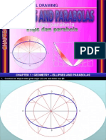 Engineering Drawing Form 4 Ellipes and Parabolas