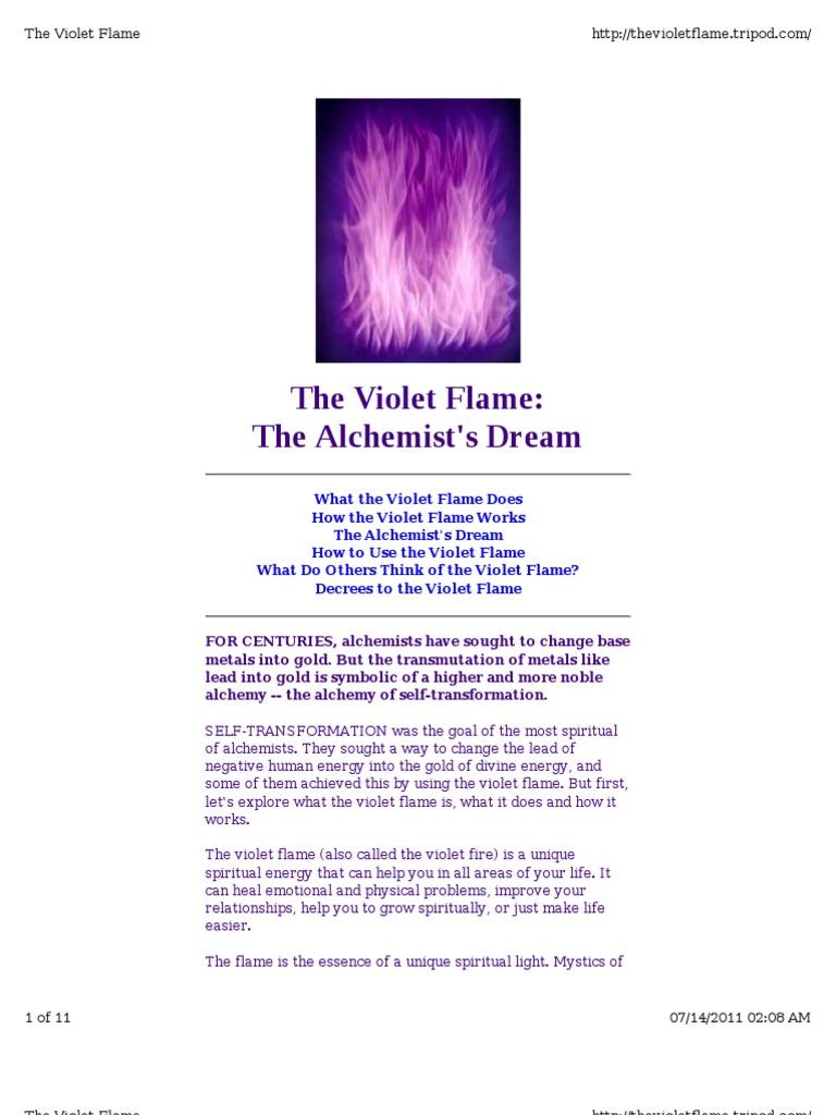 Violet flame ascended master alchemy buycottarizona Gallery