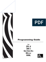 ZPL Code Programming