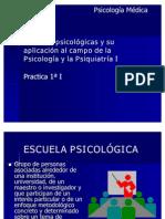 Escuelas psicologicas Practica1ªI