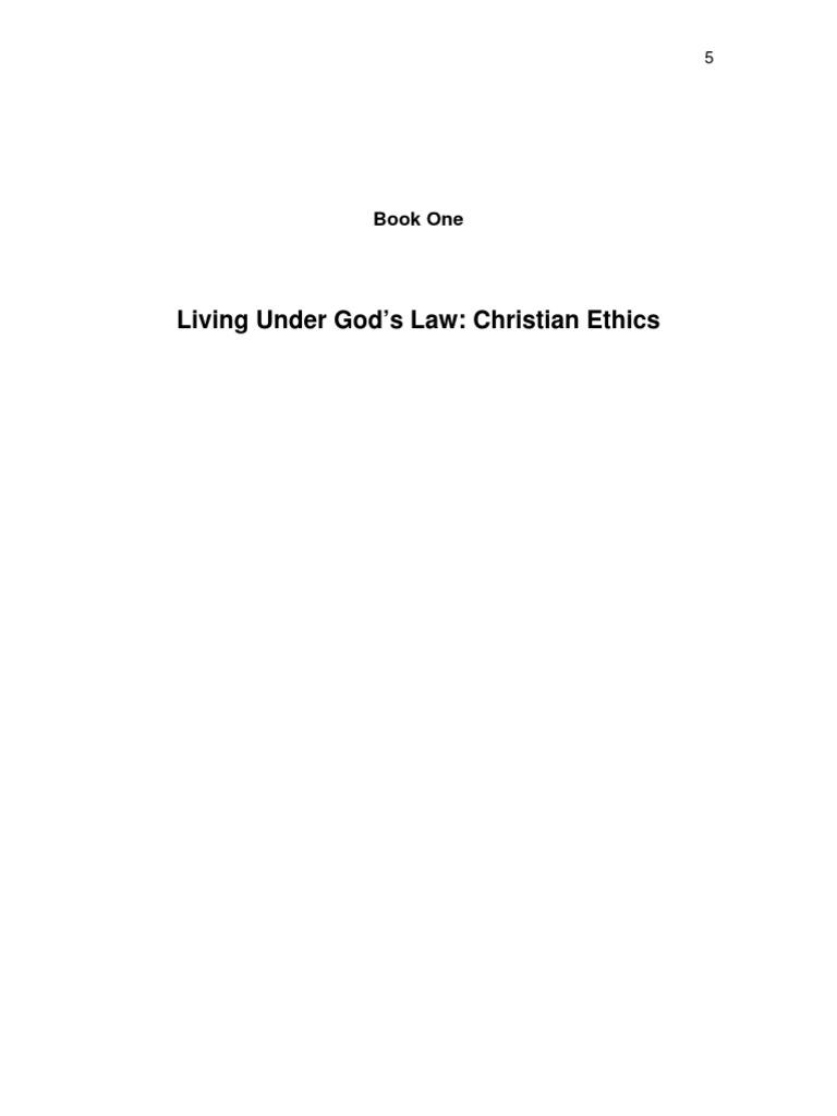living under god s law christian ethics theology covenant living under god s law christian ethics theology covenant biblical
