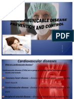 Non-communicable Disease Prevention and Control