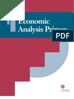 Economic Analysis Primer
