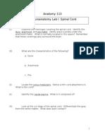 Spinal Cord Laboratory