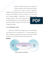 analyse constrative et analyse d´erreur