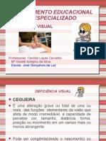 SEMINÁRIO AEE deficiência visual