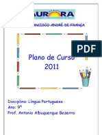 Plano de Curso 2011