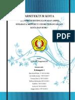 Kondisi Eksisting Kawasan AMPEL Surabaya berdasar 3 Teori Perancangan Kota dan RTBL