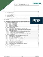 Quick Guide SIMARIS CFb S4 En