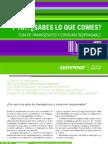 Guia Productos Saludables y Transgenicos