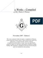 Masonic Works Compiled Vol. I (223 Pgs)