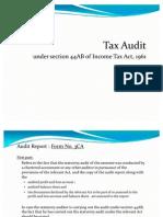 Tax Audit - Sec.44ab (Ppt)