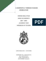 Ordine Degli Studi a.a. 2011-2012
