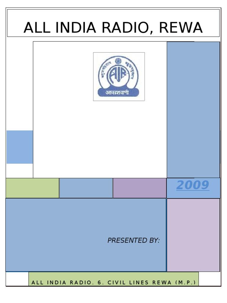 Tranning Report 2009 | Antenna (Radio) | Transformer