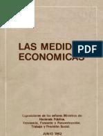 Las medidas económicas. Chile 1973-1982