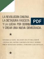 Luis Corbalán - La revolución chilena, la dictadura fascista...