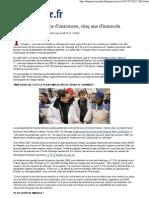Le Monde Chômage _ cinq ans d'annonces, cinq ans d'insuccès